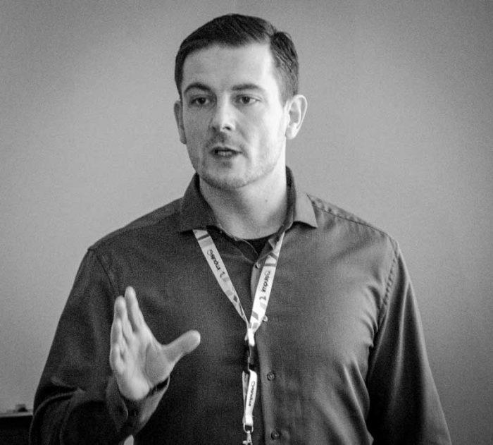 Martin Brosy bei seinem Vortrag auf der SEO Campixx 2020